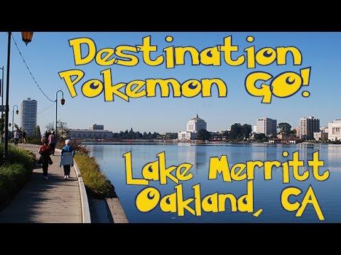Lake Merritt in Oakland is Lit! Destination Pokémon GO Travel Ideas!