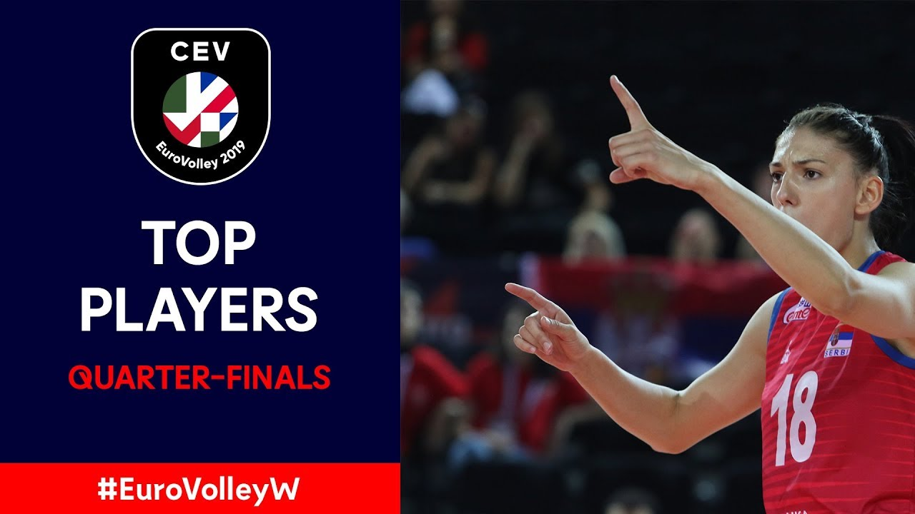 #EuroVolleyW | Top Players – Quarter-Finals
