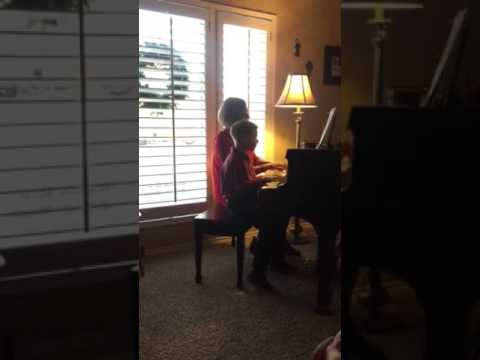 Owen's (8) 1st Piano Recital-Secret Agent 006