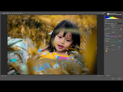 Photoshop tutorial Warm Autumn Color Effect Tree Color in Photoshop 2019 thumbnail