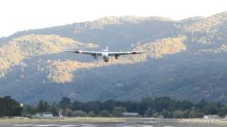calfire tanker 81 take off from ukiah