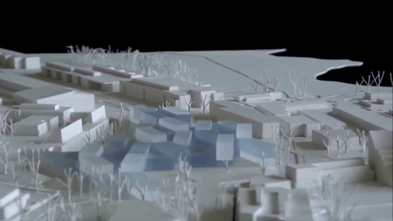 V Re By Verstas Architects Site Model Of The New Aalto