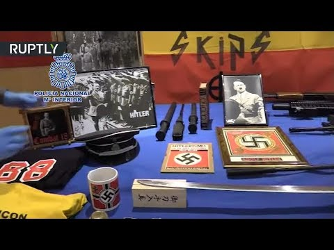 Stash of neo-Nazi materials & weapons found in Valencia