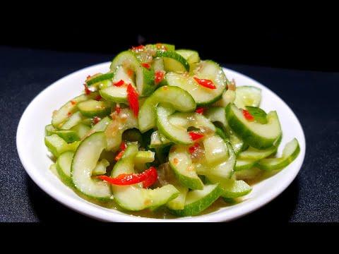 DƯA LEO TRỘN giòn xanh một món ăn nhanh dễ  làm   món ngon tại nhà T716