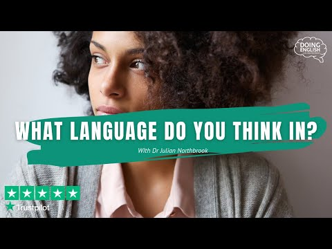 What language do you think in?