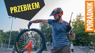 Jak szybko skleić dętkę w rowerze.