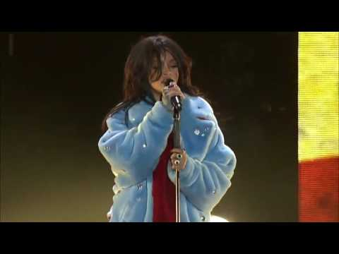Rihanna American Oxygen Live at the March Madness Festival