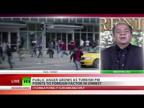 Anti-government protests anger mounts in Turkey - Gerald Celente on RT