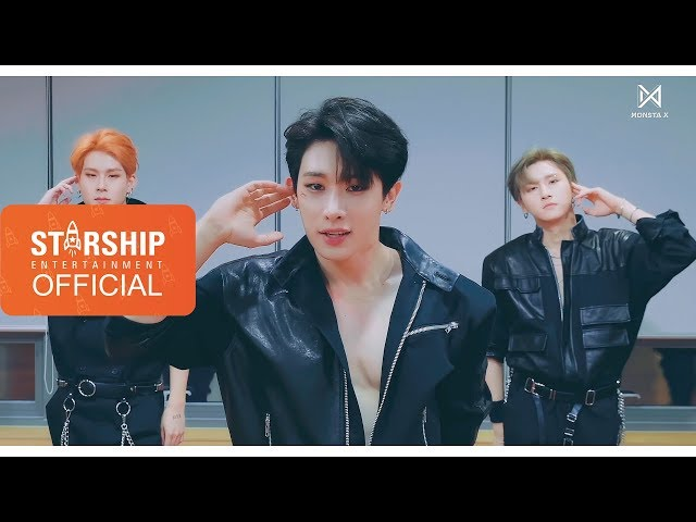 [Dance Practice] 몬스타엑스 (MONSTA X) - 'SHOOT OUT' EYE CONTACT ver.