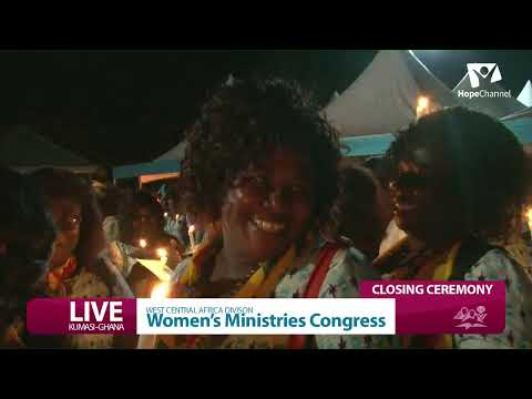 Final Day- WOMEN'S MINISTRY CONGRESS - Closing Ceremony ive