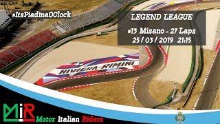 MotoGP 18   Legend League   Round #13   Misano   Live Streaming 1080p
