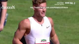 Kevin Mayer 9126pts WR's full decathlon, Talence 2018 (link to each event below)