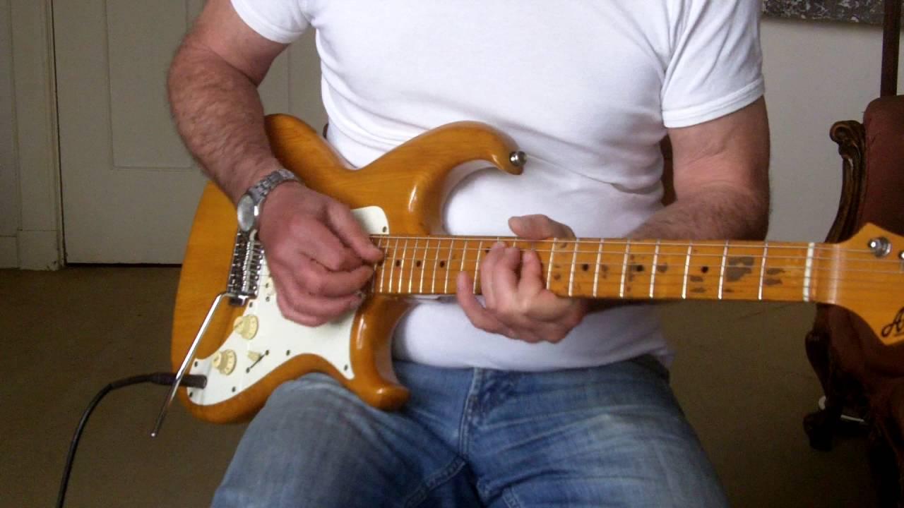 aria pro 2 guitar rs series