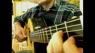 Painted Heart 画心 (theme from Painted Skin) - Guitar solo
