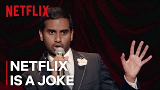 "Aziz Ansari: Buried Alive - ""Black Dudes are Blown Away by Magic Tricks"" - Netflix [HD]"