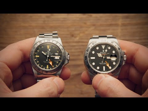 Old vs New - Rolex Explorer | Watchfinder & Co.