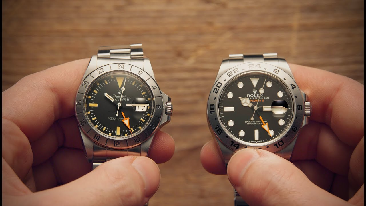 Rolex Explorer Old Vs New Rolex Explorer Watchfinder Co