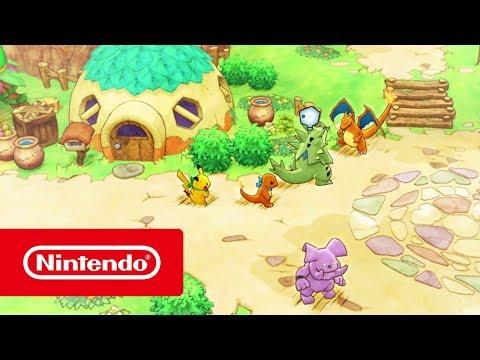 Pokémon Donjon Mystère : Équipe de Secours DX - Bande-annonce de gameplay (Nintendo Switch)