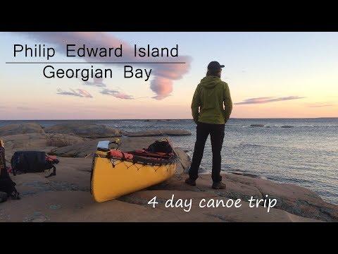 Philip Edward Island - Canoeing Georgian Bay