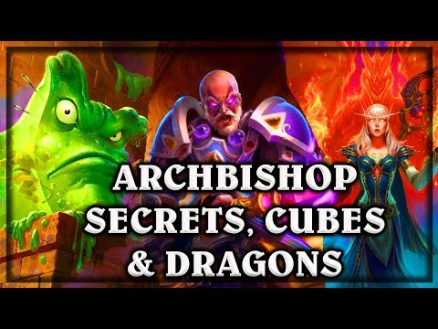 Archbishop Secrets, Cubes and Dragons  ~ Kobolds & Catacombs ~  Hearthstone heroes of warcraft