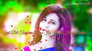 Yeh Dil Tumhare Pyar Ka Mara Hai Doston Hindi remix DJ song