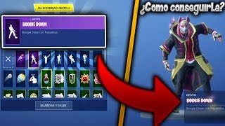 COMMENT POUR GET THE 'NEW BAILE' GRATUIT DE FORTNITE!😱 'BOGGIE DOWN'🔥