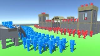 HUGE CASTLE SIEGE! (Ancient Warfare 2)