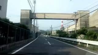【四国ドライブ】丸住製紙内(四国中央市)byインプレッサ160606
