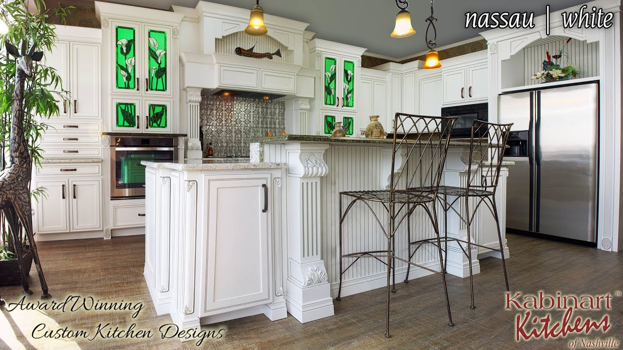 Superbe Kabinart Kitchens Of Nashville Presents   Nassua White Kitchen Cabinets    YouTube