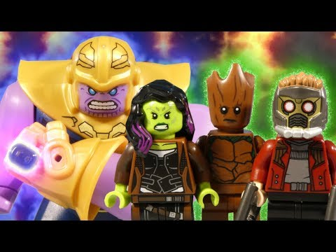 LEGO AVENGERS INFINITY WAR PART 7 - THE GUARDIANS OF THE GALAXY - MARVEL STOP MOTION