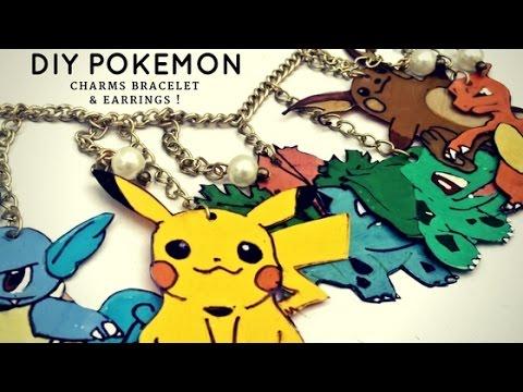 DIY Pokemon Charms Jewelry !