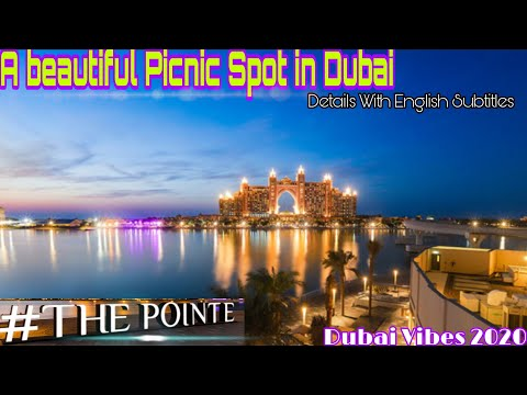 "Iconic picnic spot in Palm Jumeirah Dubai ""The Pointe""