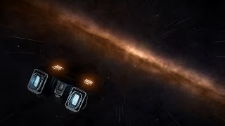 Inhabited space to the Lagoon Nebula in 10 seconds (Elite:Dangerous)