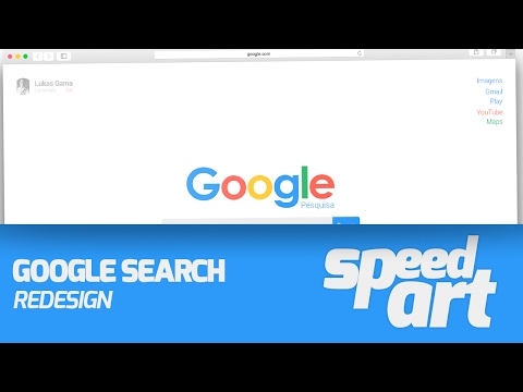 //Google Search Redesign - Photoshop CC