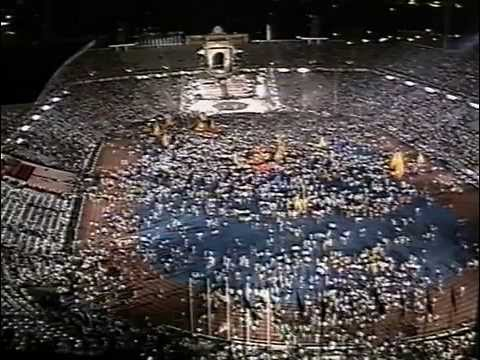 Olympic Closing Ceremony (International Feed) - Barcelona 1992