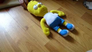 the simpsons Bart plush by Spiderman Jerry