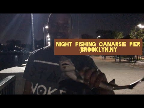 Night Fishing Canarsie Pier (Brooklyn,NY)