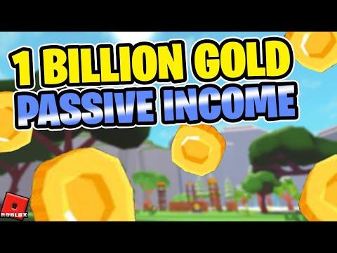 1 BILLION GOLD PASSIVE | XP/GOLD Boost Event | Giant Simulator