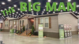 Plant this home on 40 acres somewhere!! New Deer Valley double wide mobile home tour.