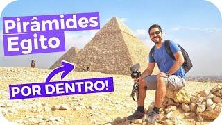 Dentro das Pirâmides do Egito!