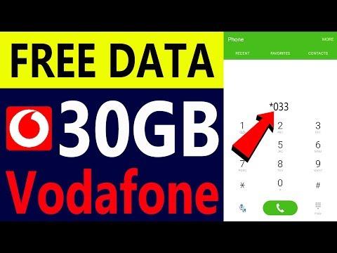 Vodafone Free 30GB 4G Data Offer 2020 | Vodafone Free Internet Trick | Vodafone Free Data Code Hindi