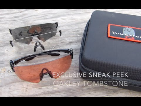 7d71675384 Exclusive Oakley Preview  Tombstone Shooting glasses - YouTube