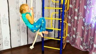 Обзор детского спортивного комплекса Начинаем заниматься спортом Сhildren's sports equipment