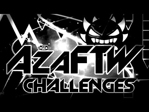 UNNERFED BLACK BLIZZARD ~ Geometry Dash AzaFTW Challenges