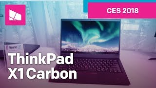 Lenovo ThinkPad X1 Carbon hands-on from CES 2018