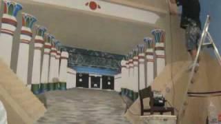 Egipt wall painting
