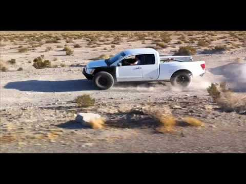 Nissan Titan Engine Cage and Frame-mounted Long Travel Kit Build