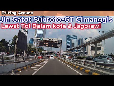 Jalan Gatot Subroto Hingga Cimanggis Lewat Tol Dalam Kota Dan Jagorawi ~ Driving Series Indonesia