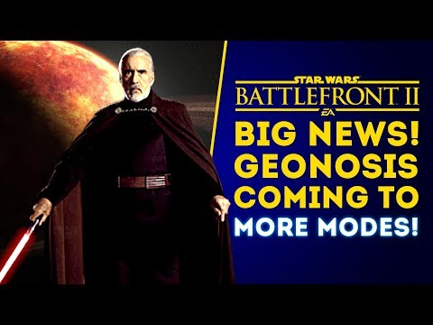 BIG NEWS! Geonosis Confirmed for More Modes! Count Dooku Update! - Star Wars Battlefront 2 thumbnail