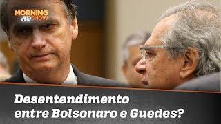 O que está acontecendo entre Bolsonaro e Paulo Guedes?